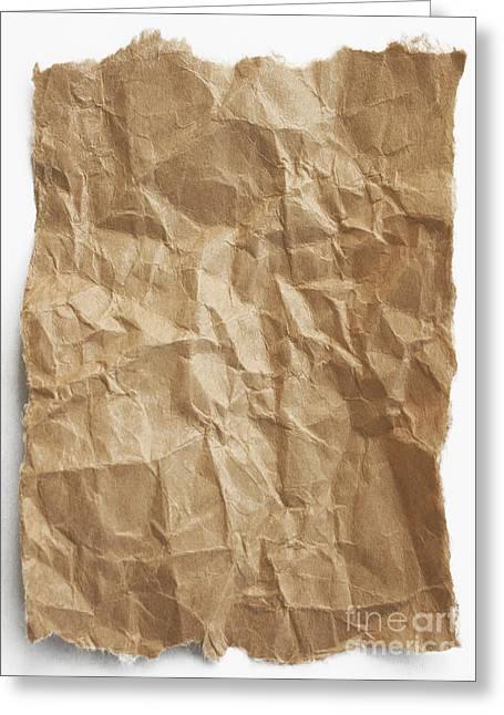 Brown Paper Greeting Card