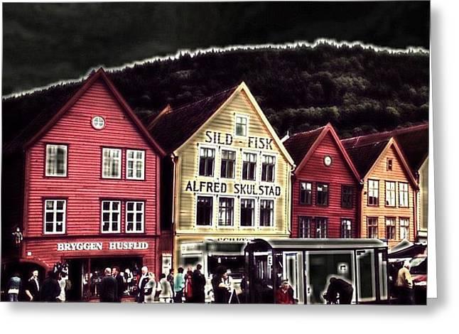 Bryggen Greeting Card