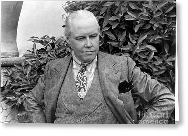 Carl Van Vechten (1880-1964) Greeting Card by Granger