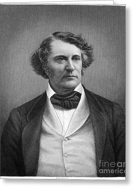 Charles Sumner (1811-1874) Greeting Card