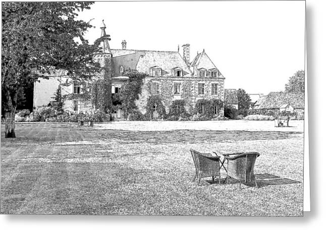 Chateau De Saint Paterne Normandy France  Greeting Card by Joseph Hendrix