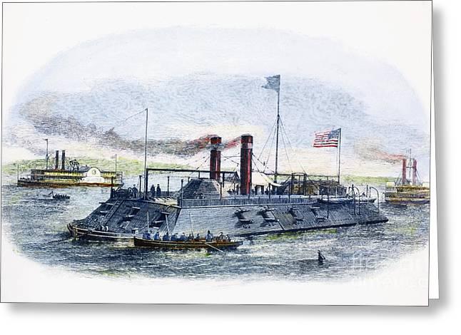 Civil War: Blockade, 1864 Greeting Card