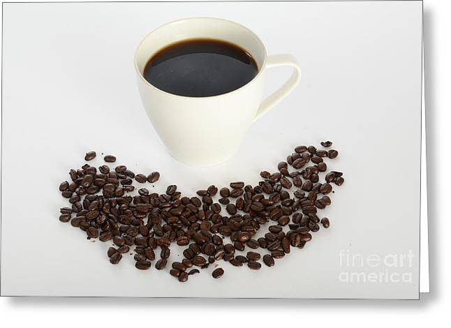 Coffee Greeting Card by Photo Researchers, Inc.