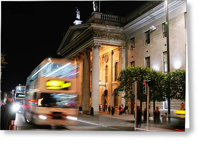 Dublin General Post Office Greeting Card by Josh Whalen
