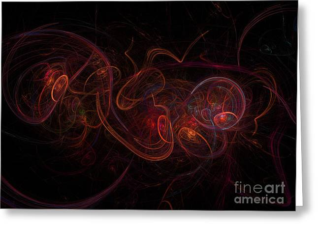 Fractal Greeting Card by Henrik Lehnerer