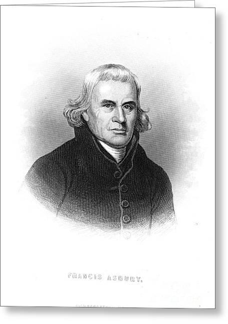 Francis Asbury (1745-1816) Greeting Card by Granger