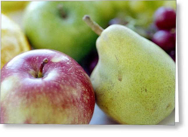 Fruits Greeting Card by David Munns