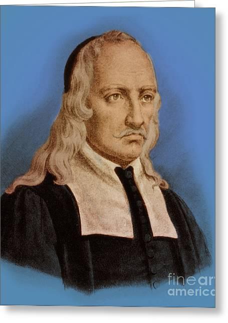 Giovanni Borelli, Italian Mathematician Greeting Card