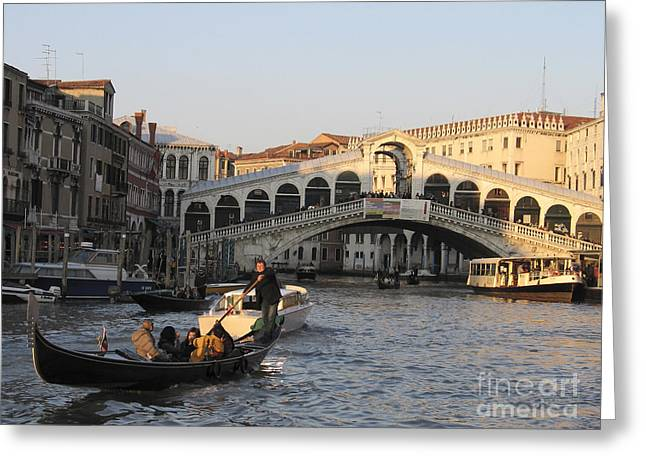 Grand Canal. Venice Greeting Card
