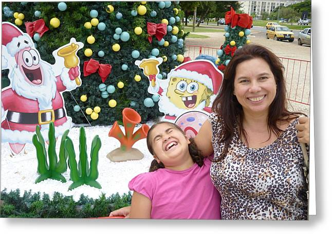 Greeting Card featuring the photograph Happy by Beto Machado