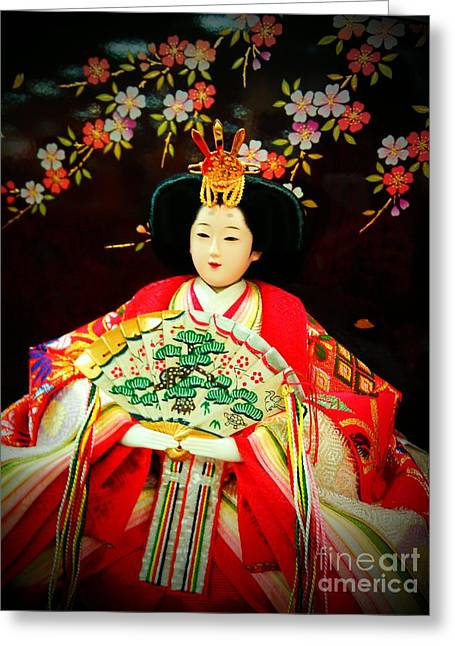 Hina Doll Greeting Card