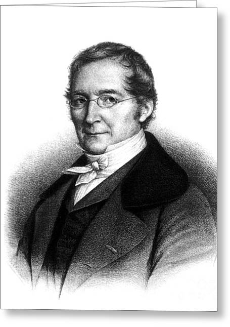Joseph Gay-lussac, French Chemist Greeting Card by Science Source