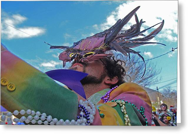 Mardi Gras Day In New Orleans Greeting Card