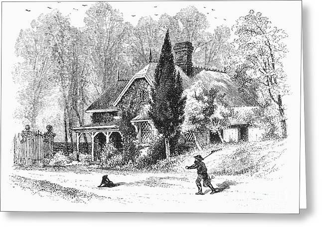 New York State: House Greeting Card by Granger