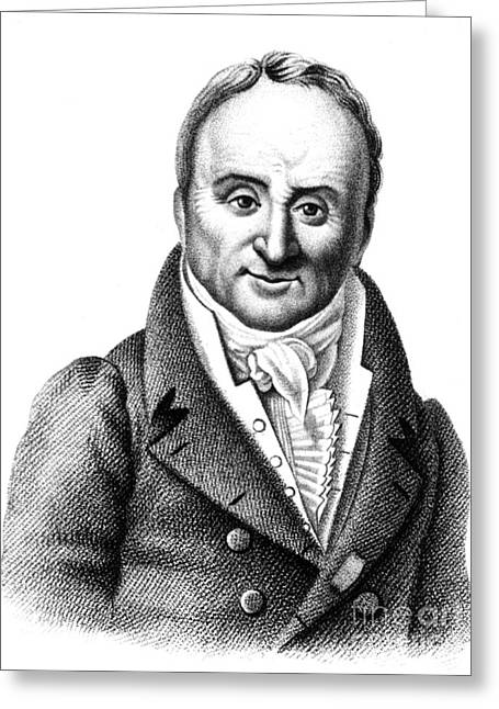 Philippe Pinel, French Physician Greeting Card