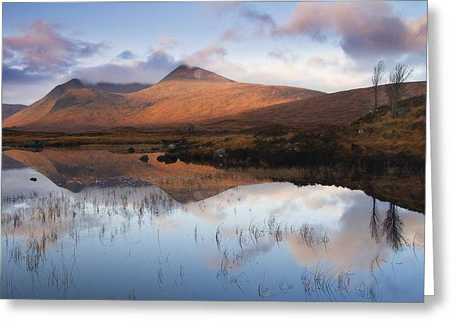 Rannoch Moor At Sunrise Greeting Card