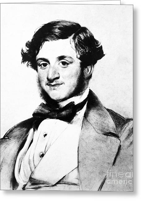 Robert Browning (1812-1889) Greeting Card by Granger