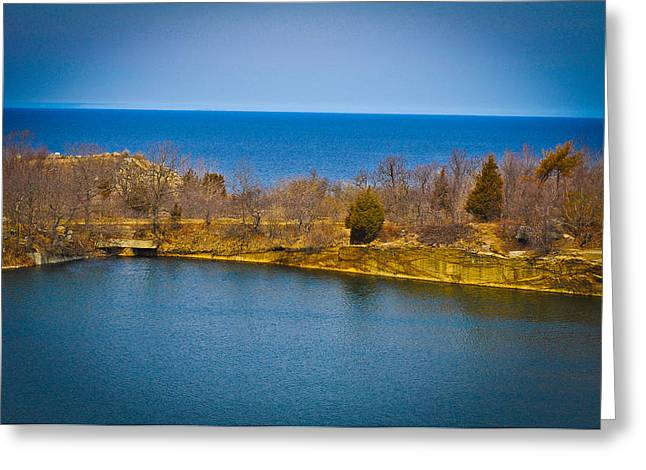 Rockport Park Greeting Card by Erica McLellan