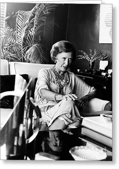 Rosamond Bernier (1917-) Greeting Card by Granger