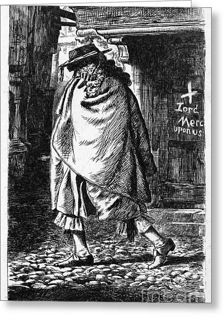 Samuel Pepys (1633-1703) Greeting Card by Granger