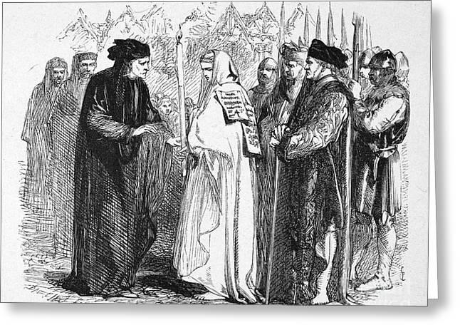 Shakespeare: Henry Vi Greeting Card by Granger