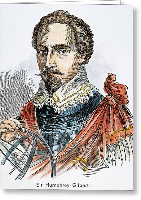 Sir Humphrey Gilbert Greeting Card by Granger