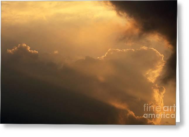Sky Greeting Card by Odon Czintos