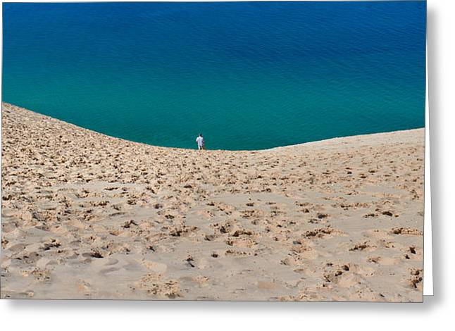 Sleeping Bear Dunes  Greeting Card by Twenty Two North Photography
