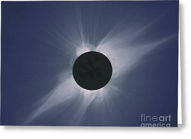 Solar Eclipse Greeting Card by Nasa