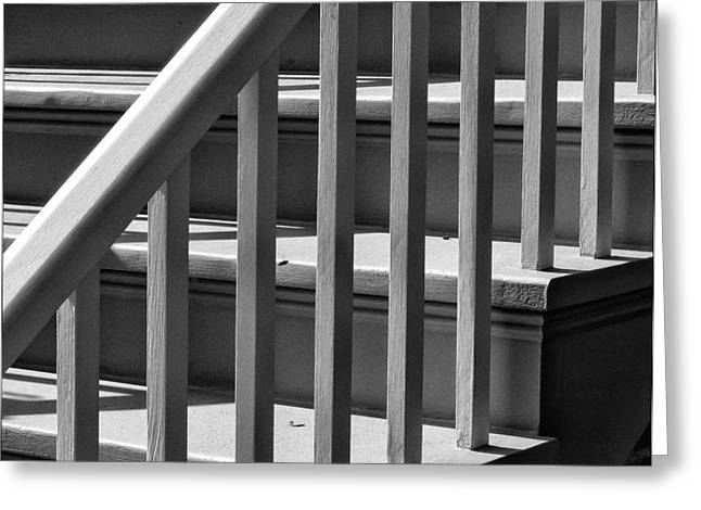 Stairs Greeting Card by Robert Ullmann