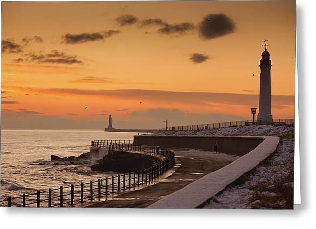 Sunderland, Tyne And Wear, England A Greeting Card by John Short