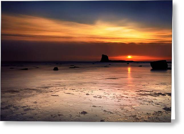 Sunrise Greeting Card by Svetlana Sewell