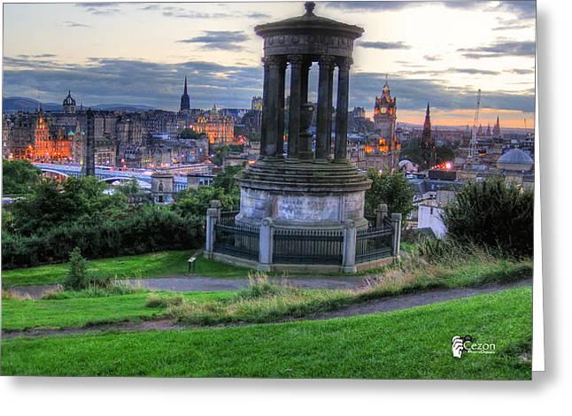 View Of Scotland Greeting Card by Jose Luis Cezon Garcia