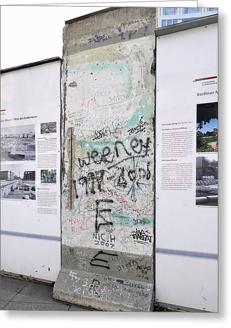 Wall Greeting Card by Igor Sinitsyn