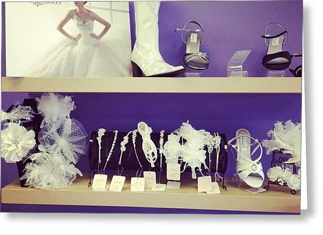 #wedding #dress #shopping Greeting Card