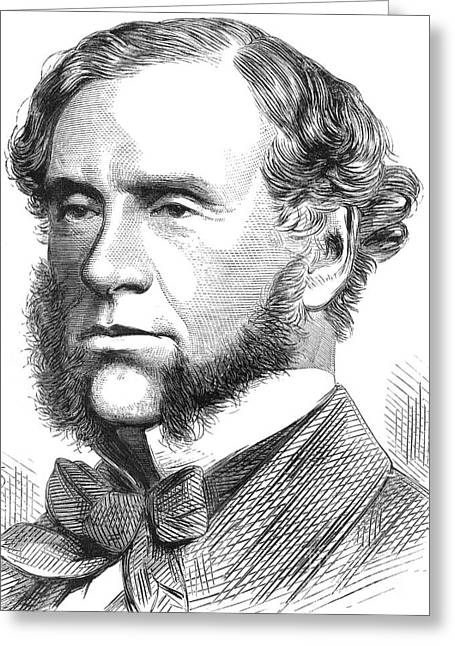 William Robert Grove, British Scientist Greeting Card by Science Source