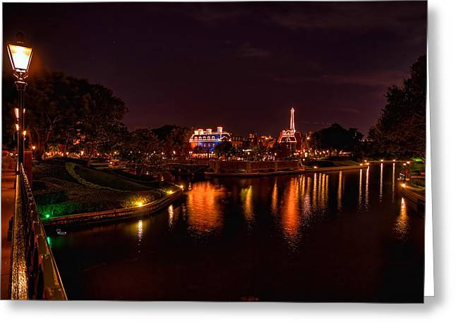 World Showcase France Hdr Greeting Card
