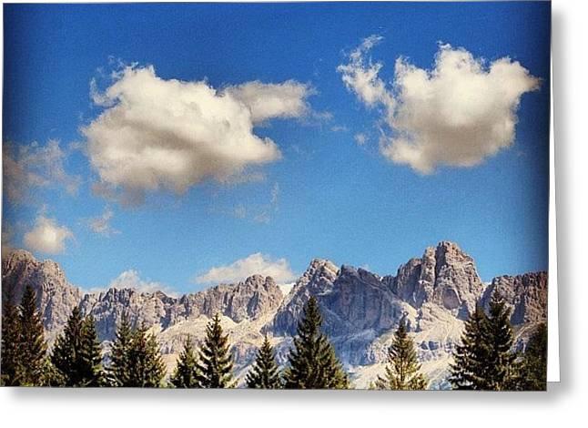 Dolomites Greeting Card
