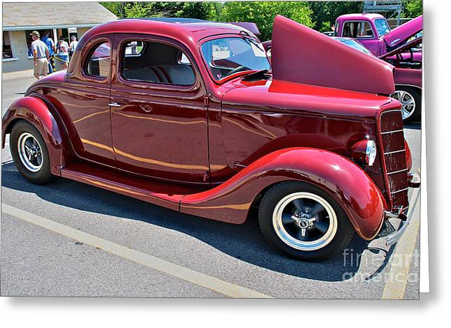 35 Ford Coupe Greeting Card by Mark Dodd