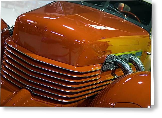 Greeting Card featuring the photograph '36 Cord by Chuck De La Rosa