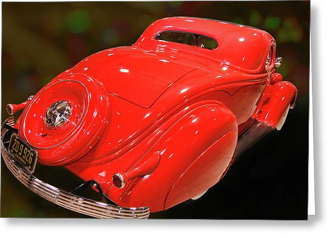 36 Custom Coupe Greeting Card by Bill Dutting