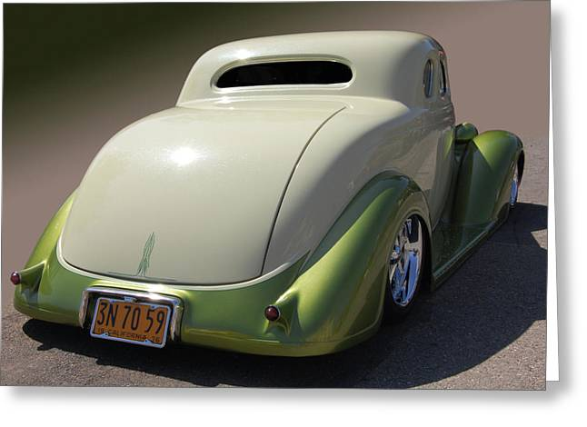 36 Dodge Coupe Greeting Card