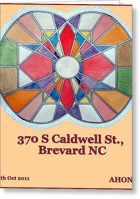 370 S Caldwell St Greeting Card