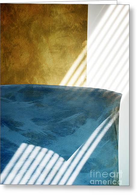 Abstract Greeting Card by HD Connelly
