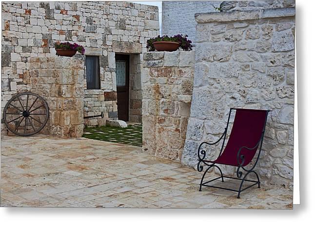 Alberobello - Apulia Greeting Card