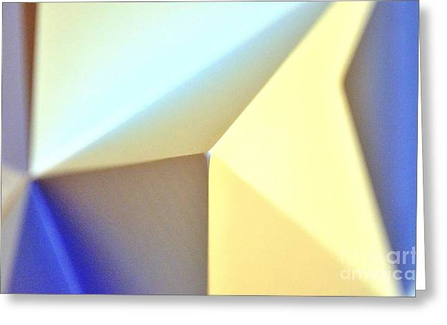 Architectural Series  Greeting Card by Terry Troupe