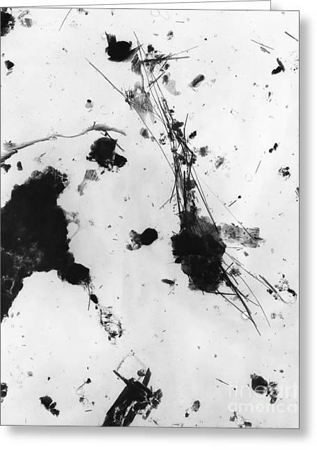 Asbestos Fibers Greeting Card by Omikron