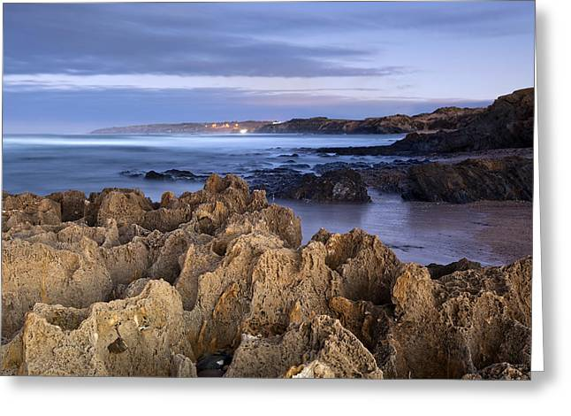 Beach In Milfontes Greeting Card by Andre Goncalves