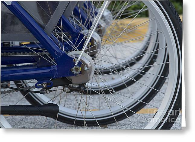 Bicycles Greeting Card by Blink Images