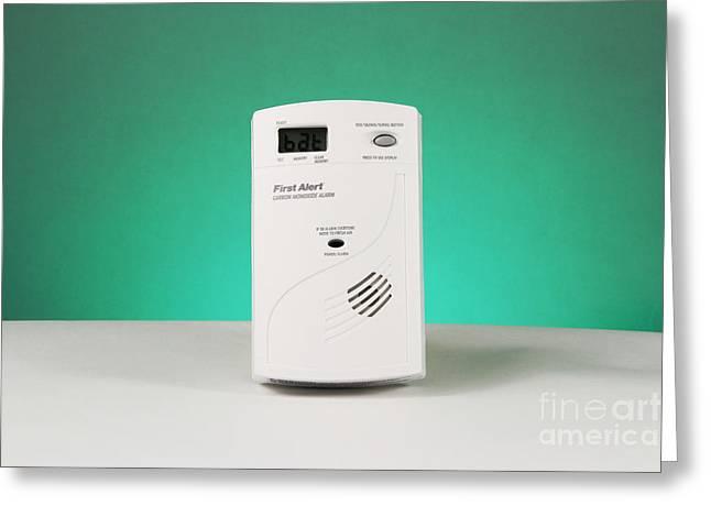 Carbon Monoxide Detector Greeting Card